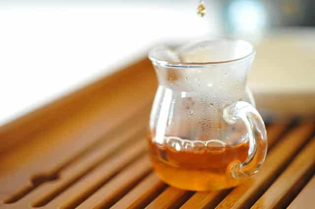 Kampfer wird nicht als Tee vertrieben