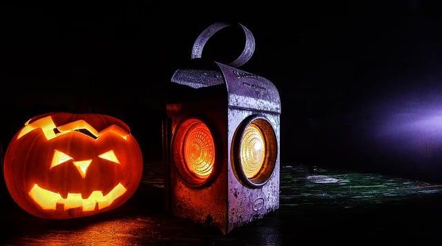 Kürbis an Halloween