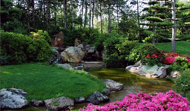 mit einem bachlauf den garten in eine wohlfühloase verwandeln, Garten und bauen