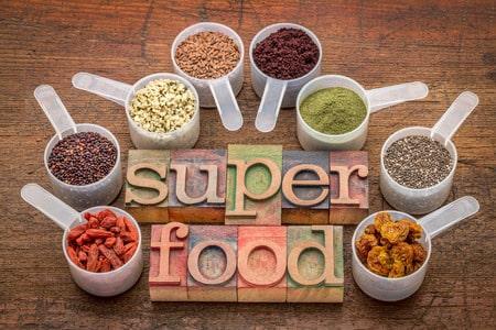 Superfood Nahrungsmittel