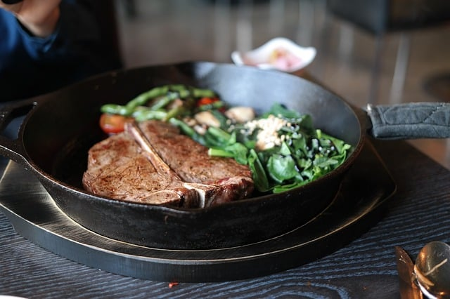 Bild Steak anbraten