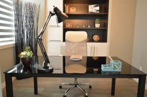 Bild elegantes Arbeitszimmer
