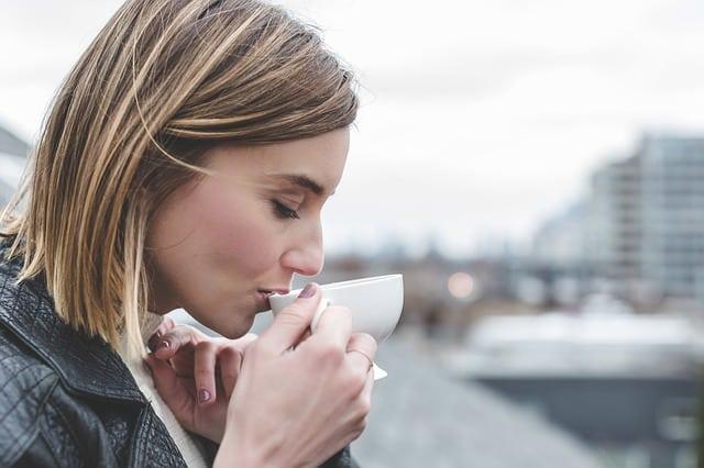 Bild Tee trinken
