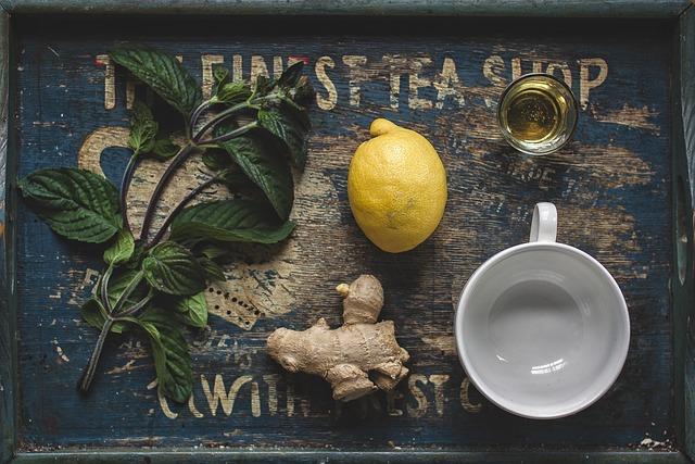 Bild Zubereitung Ingwer Tee