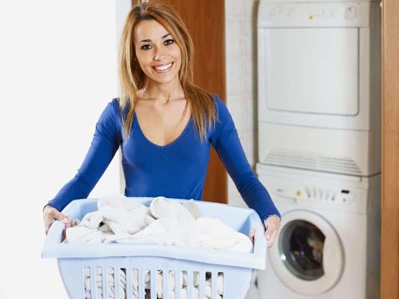 Bild weiße Wäsche