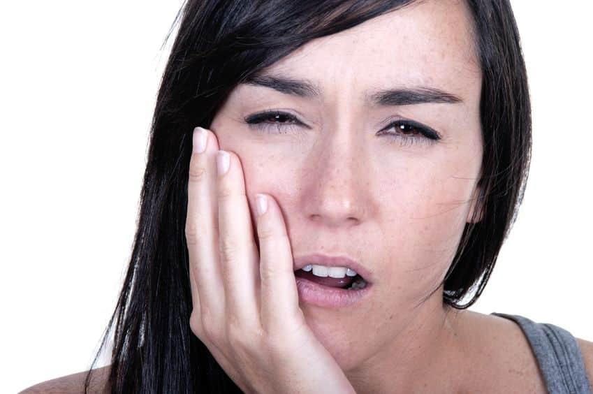 Bild empfindliche Zähne