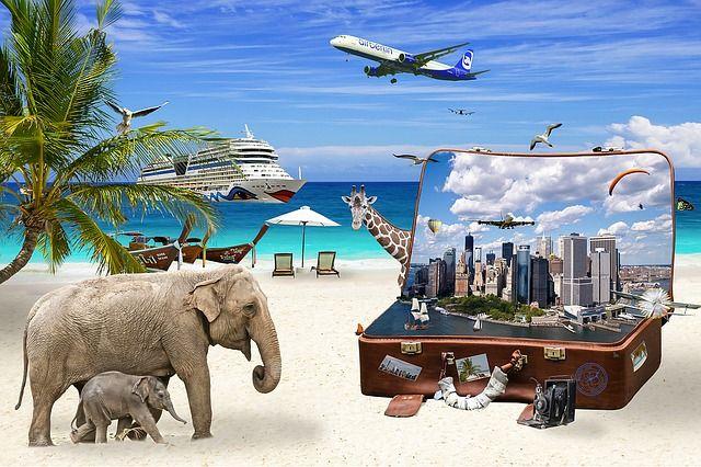 Koffer packen für den Sommerurlaub
