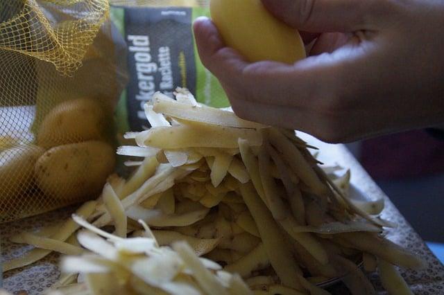 Bild Kartoffelschalen