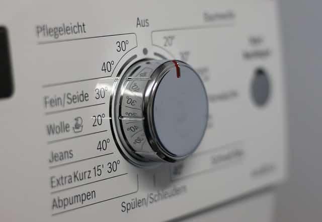 Bild Waschmaschinen Knopf