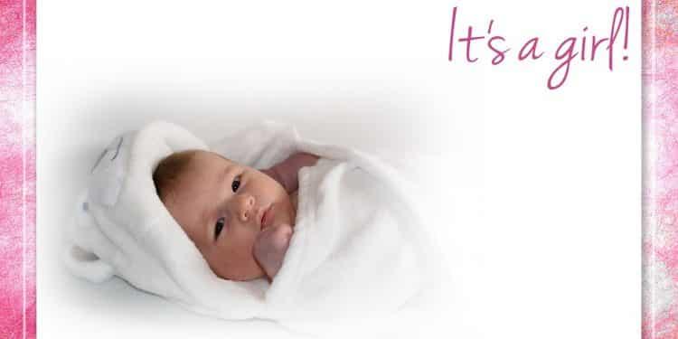 Karten zur Geburt gestalten