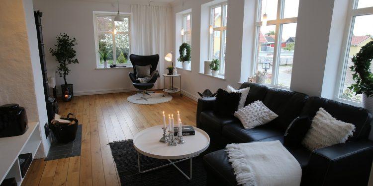 Bild skandinavische Einrichtung
