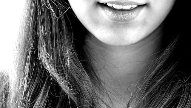 Bild trockene Lippen