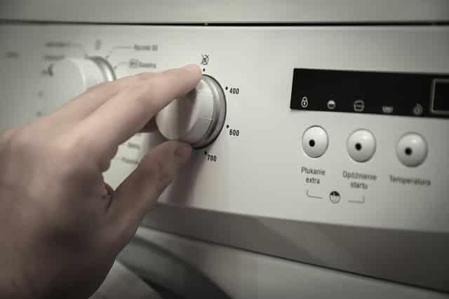 Waschmaschinenknopf
