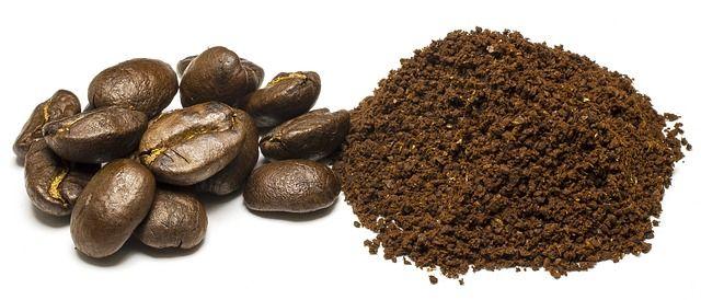Kaffeepulver Geruchsbeseitigung